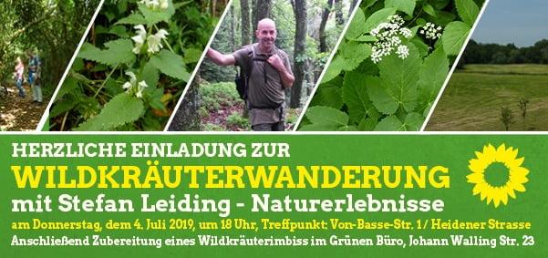 Wildkräuterwanderung durch Borken: Entdecken und genießen!