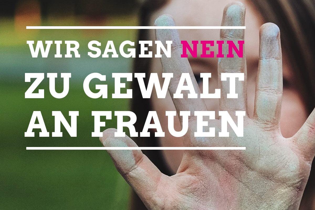 """Grüne zum internationalen Tag gegen Gewalt an Frauen: """"Gewalt an Frauen ist kein Bagatelldelikt!"""""""