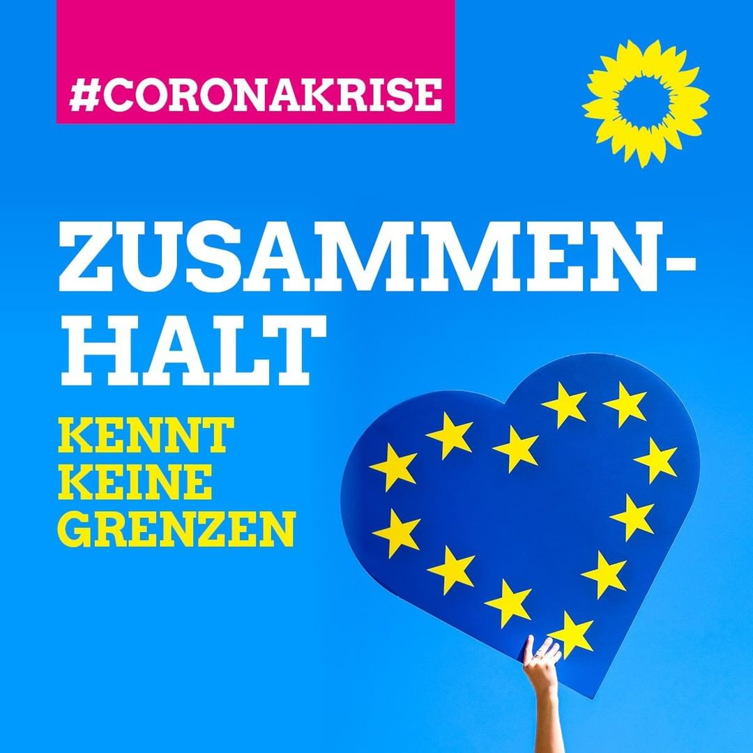 Coronakrise: Zusammenhalt kennt keine Grenzen!