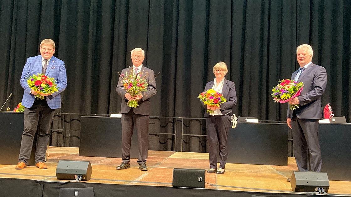 Landschaftsversammlung  wählt Gertrud Welper zur neuen 1. stv. Vorsitzenden