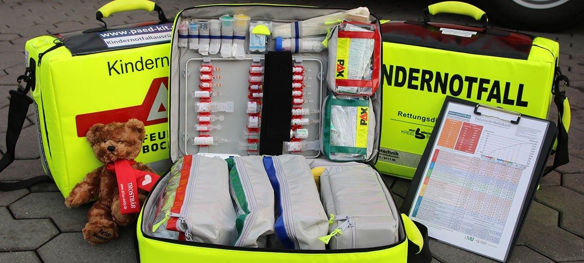 Neue Kindernotfallkoffer im Rettungsdienst des Kreises Borken