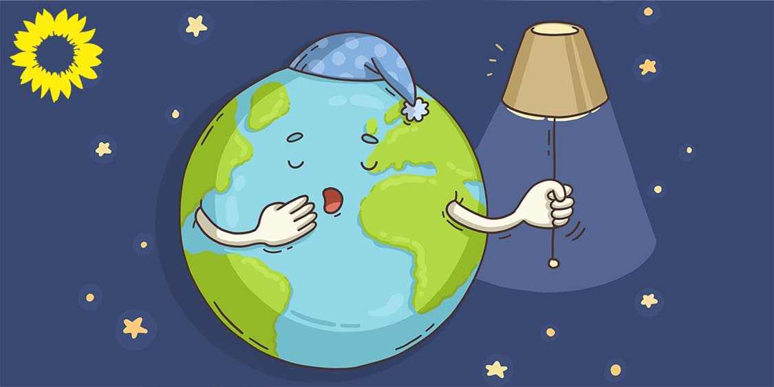Licht aus! GRÜNE rufen zur Teilnahme an der Earth Hour 2021 auf