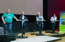 Grüne und UWG diskutieren künftige Kreisentwicklung
